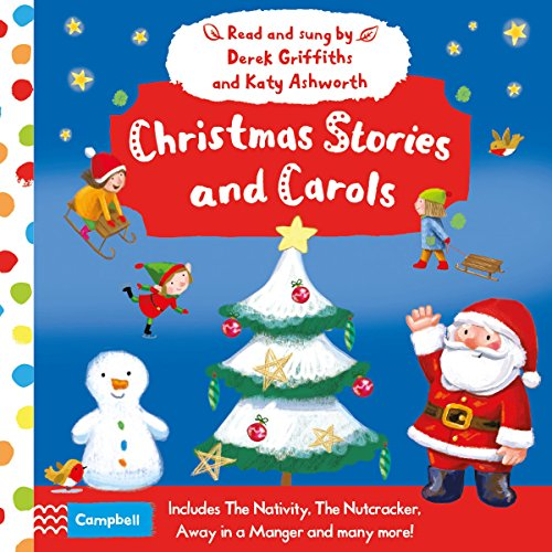 Christmas Stories and Carols audiobook cover art