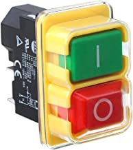 ILS - KJD17 120V 16/12A 5Pins Electromagnetic Push Button Switch for Controlling Motor