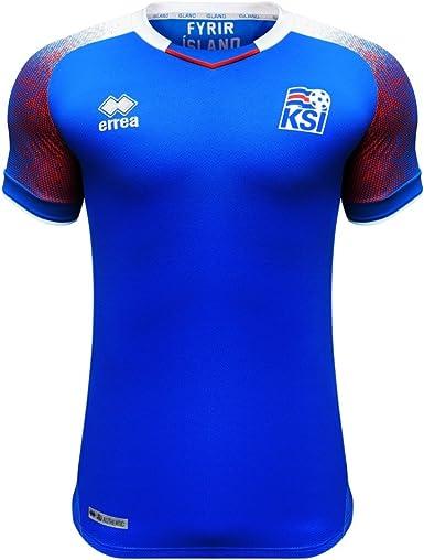 Errea Island Home Heim WM 2018 Camiseta de fútbol. Hombre