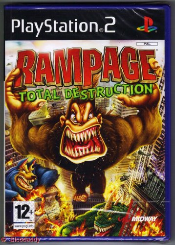 Rampage: Total Destruction (PS2)