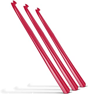 3 x 31 Inch Extra Long Handled Shoehorn