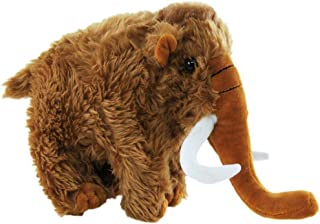 Elka Australia 9383-21 Standing Mammoth Soft Plush Toy, Brown, 20 x 26 Centimeters