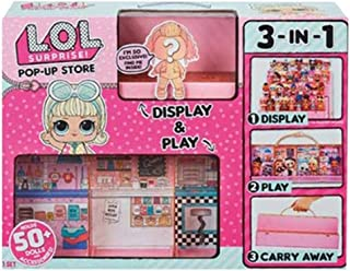 L.O.L Surprise! Pop-up Store Doll House+ 1ea Exclusive LOL Doll