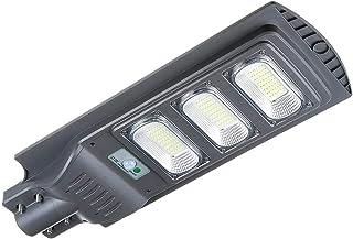 BBZZ Lampe solaire de sécurité étanche 40 W 80 W 120 W avec détecteur de mouvement PIR Lampe murale d'extérieur LED (coule...