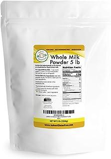 Sponsored Ad - Judee's Whole Milk Powder (5 lb bulk): NonGMO, rBST Hormone Free, USA Made, Pantry Staple - Baking Ready, G...