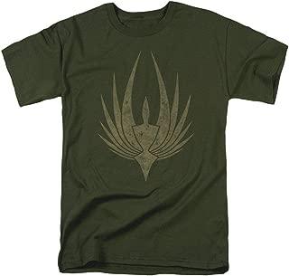 Battlestar Galactica Phoenix Green T Shirt & Stickers