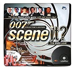 Scene It? - 007 Collector's Edition / Tin Case - James Bond Trivia DVD Game by Screne Life