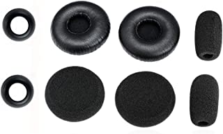 Global Teck Cushion Kit for Blue Parrott C400-XT Bluetooth Headset 204159 | Replacement Accessories - Earcushion, Microphone Foam Windscreens,