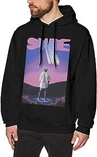 Syre Jaden Smith Mens Long Sleeve Sweatshirts Man Hoodies Black