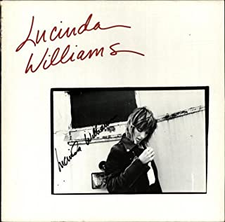 Lucinda Williams - Autographed!