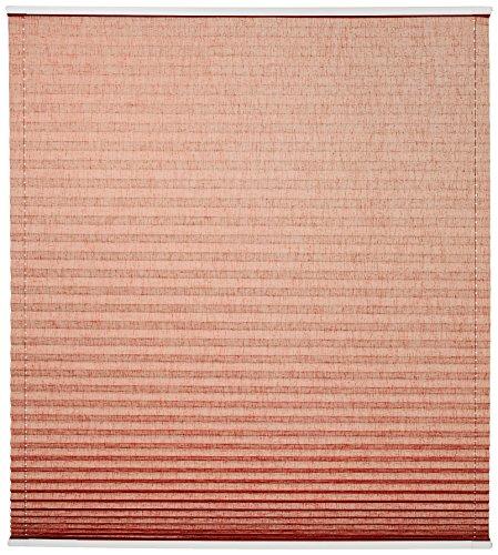 Home Fashion 94855-787 Estor Plisado Up and Down, Estructura de Lino, 130 x 50 cm, Terra