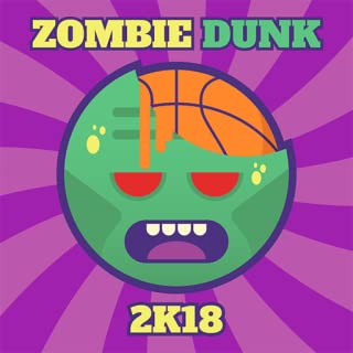 Zombie Dunk 2K18 - Hit Basketball Hoops And Avoid Zombi Arms: Addicting Free Games