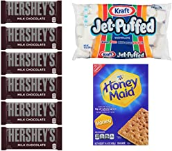 Smores Kit - Hersheys Chocolate, Jet Puffed Marshmallows, Honey Maid Graham Crackers
