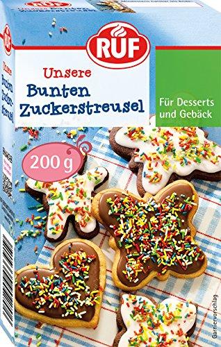 RUF Bunte Zuckerstreusel, 2er Pack (2 x 200 g)