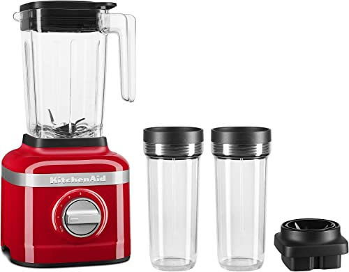 wholesale KitchenAid KSB1332PA 48oz, 3 popular Speed Ice Crushing Blender with 2 x 16oz Personal high quality Jars to Blend and Go, Passion Red online sale