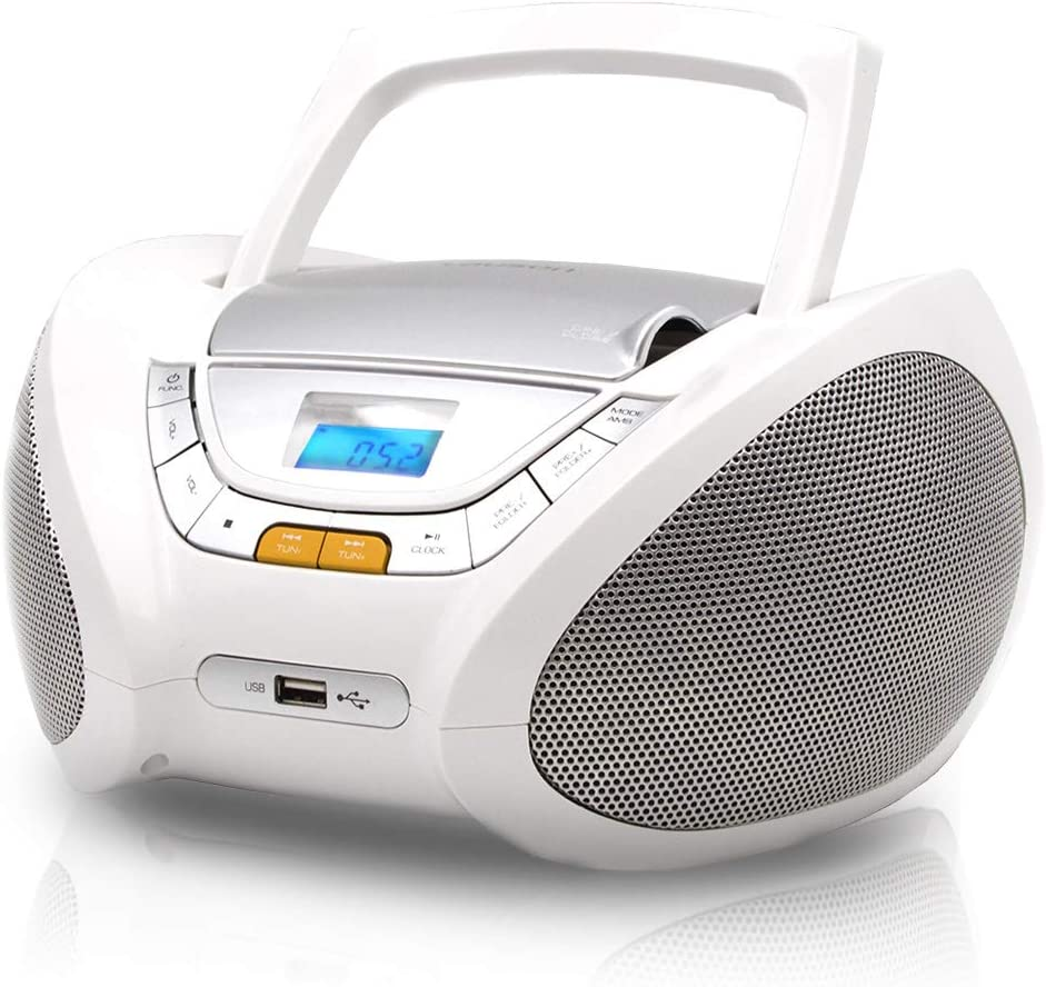 Max 87% OFF Lauson Woodsound trend rank Boombox with Cd Player Portable Mp3 CD- Radio