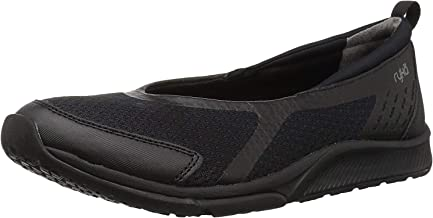 Ryka Women's Finesse Walking Shoe, Black Fabric, 6 M