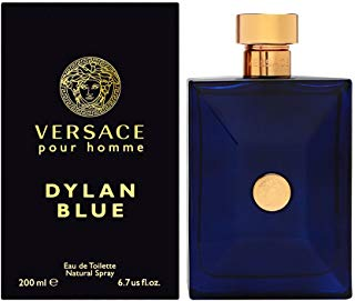 VERSACE Dylan Blue Pour Homme Eau De Toilette Spray Box Sealed, 6.7 Ounce