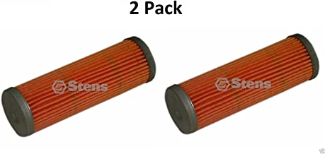 Stens 2 120-670 Fuel Filters Fits Kubota 15231-43560 Jacobsen 550489 Woods 70666