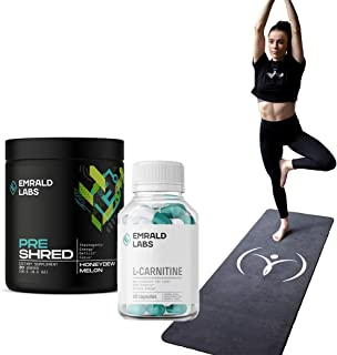 Emrald Labs Weight Attack Stack + FREE Yoga Mat