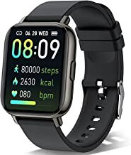 """Smart Watch 2021 for Men Women, Fitness Watch 1.69"""" Touch Screen Smartwatch, Pedometer Watch with Heart Rate and Sleep Mon..."""
