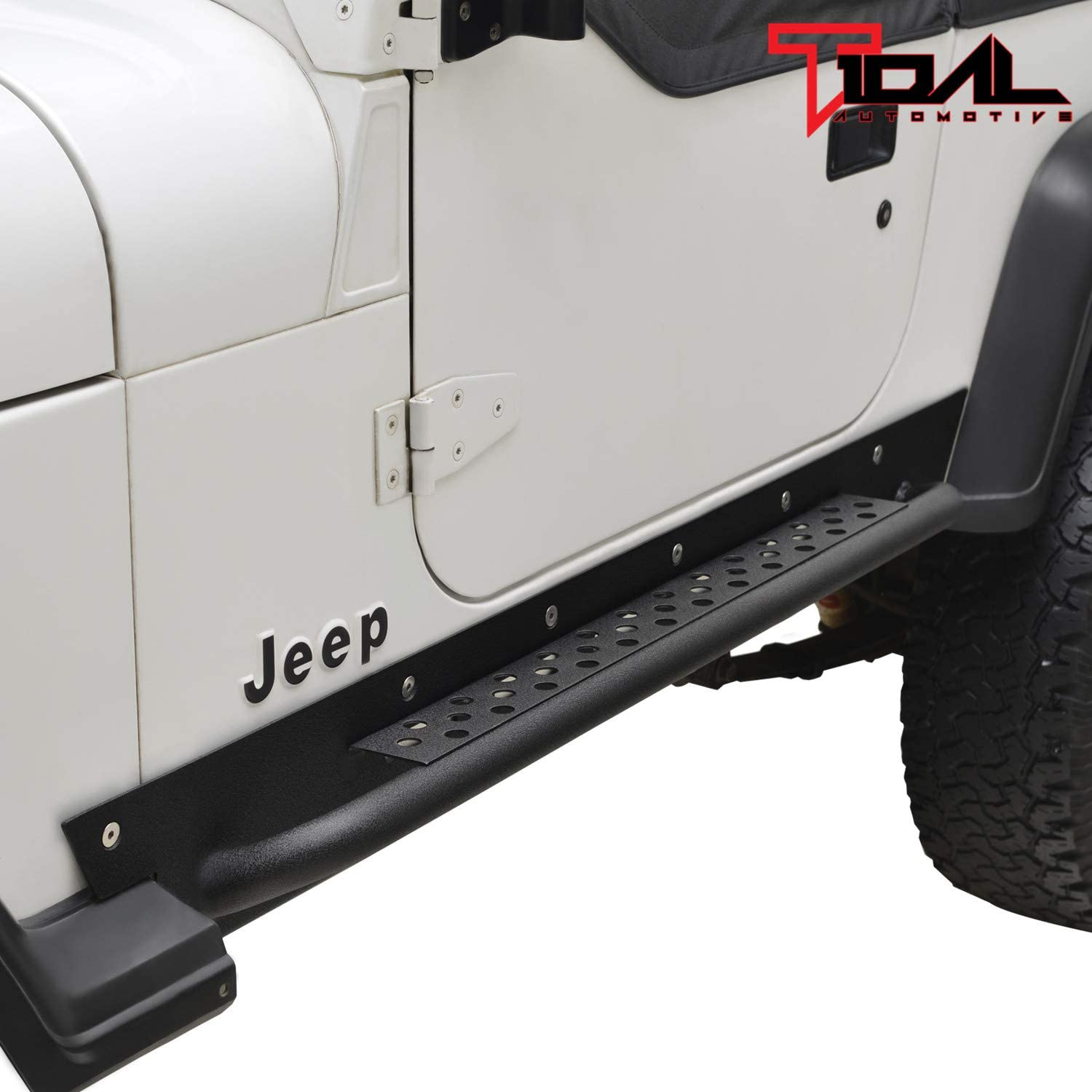 Tidal Rock Slider Rail Side Step Black Bar for Fit Nerf Textured Max Limited time cheap sale 45% OFF