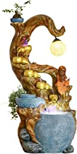 IndoorRelaxation - Fountain Waterfall NAفورة المنضب - شجرة تقليد جذر مشذب منفذي تيار ثابت ومشهد داخلي - مهدئ وصوت الاسترخا...