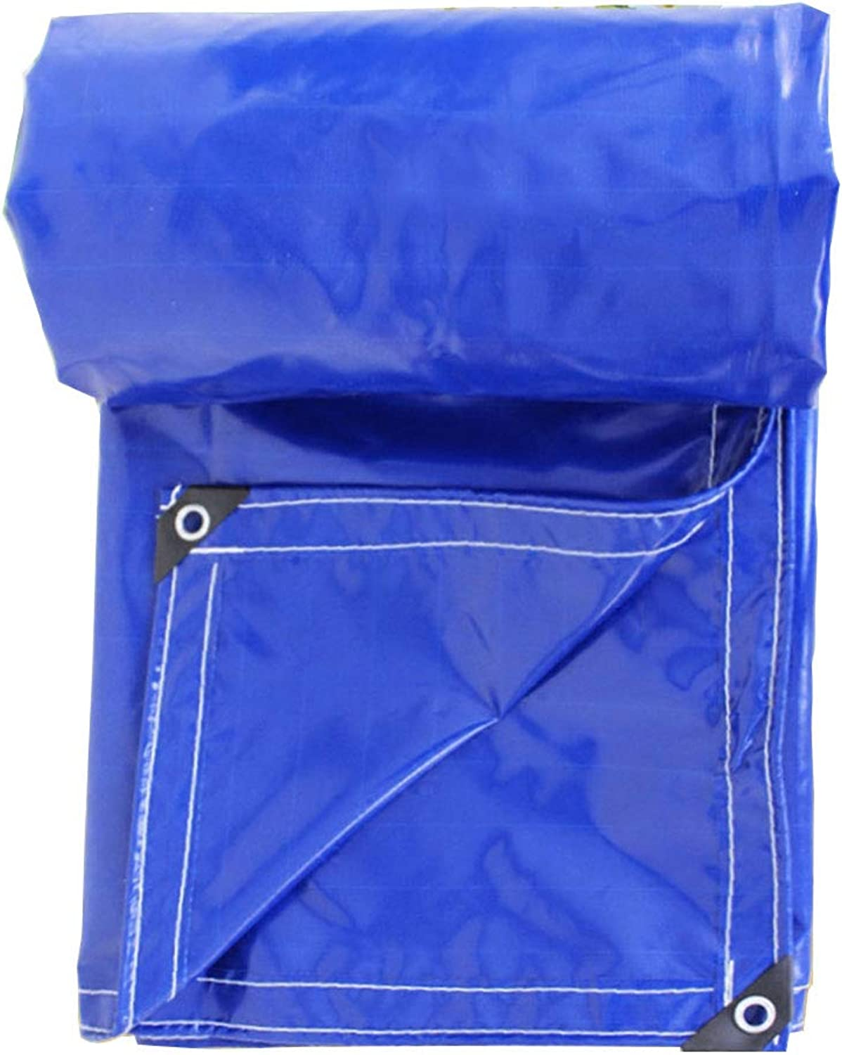 LIANGLIANG Tarpaulin Sheet Heavy Waterproof Outdoor Shade Tear Resistance Covering The Ship Metal Buttonhole Polyethylene, 13 Sizes
