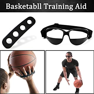 Boaton Basketball Shooting Training Aid, Dribble Goggles, Basketball Training Equipment Basketball Trainer for Kids, Youth and Adult (3 Sizes)