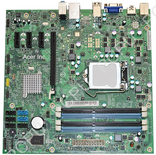 MB.SFD01.004 Acer Aspire M3920W Intel Desktop Motherboard s1156, MIH67/P67L, 10068-1, 48.3EG01.011
