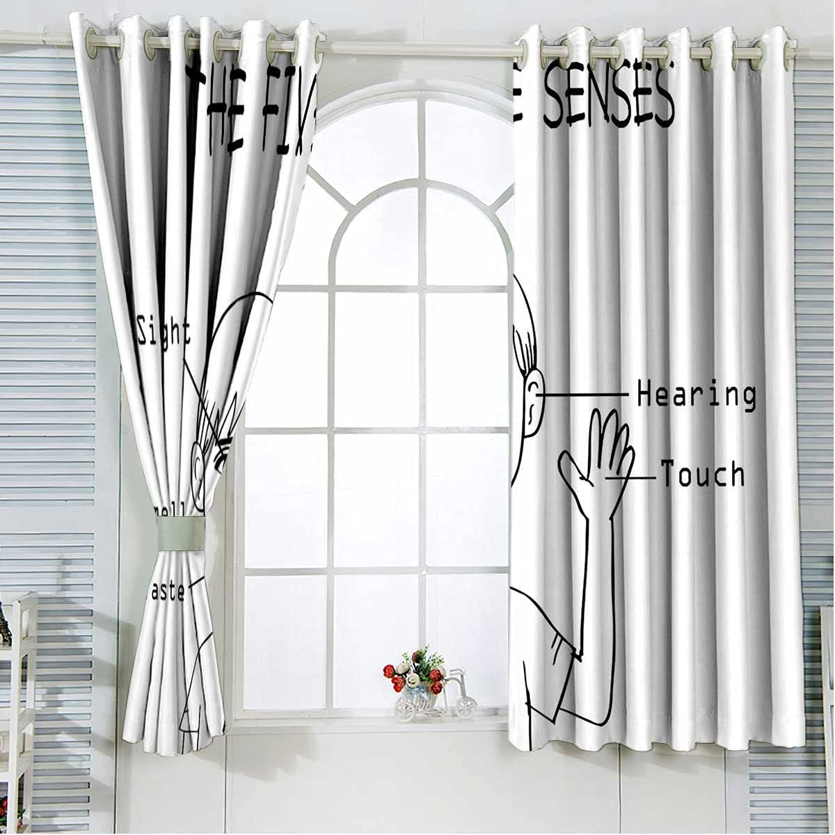 mart Cash special price Short Curtain 84 Inches Length 5 Boy Light Blocking D Senses on