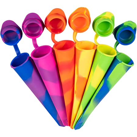 iNeibo - Molde de silicona para paletas de cocina (6 colores)