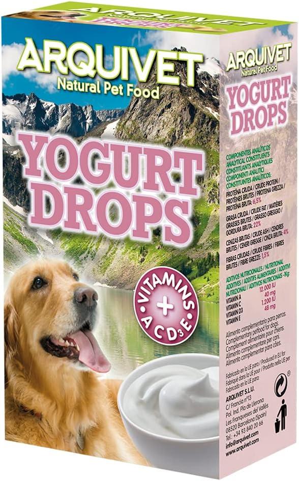 probiótico natural perros con yogurt