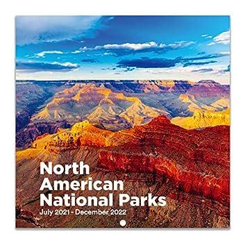 2021-2022 Wall Calendar - Monthly Wall Calendar 2021-2022 Jul 2021 - Dec 2022 12  x 24   Open  Wall Calendar with Julian Date Perfect Calendar for Organizing & Planning - National Parks
