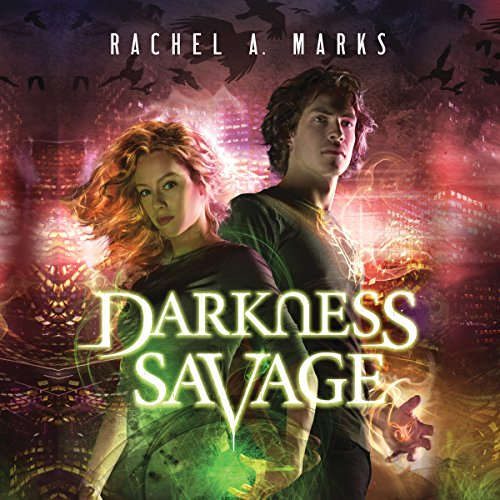 Darkness Savage audiobook cover art
