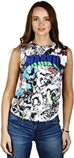 Marvel Classic Comics Juniors Sleeveless Tank Top T-Shirt