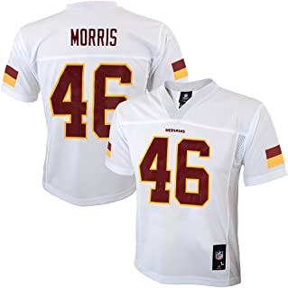 Outerstuff Alfred Morris NFL Washington Redskins Mid Tier White Away Jersey Boys (4-7)