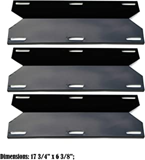 Direct store Parts DP118 (3-Pack) Porcelain Steel Heat Plates Replacement Charmglow,Nexgrill,Jenn-Air,Costco Kirkland,Sterling Forge,Glen Canyon Gas Grill Models (3)