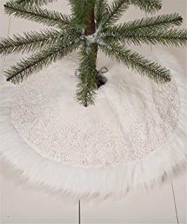 Best lowes christmas tree skirts Reviews