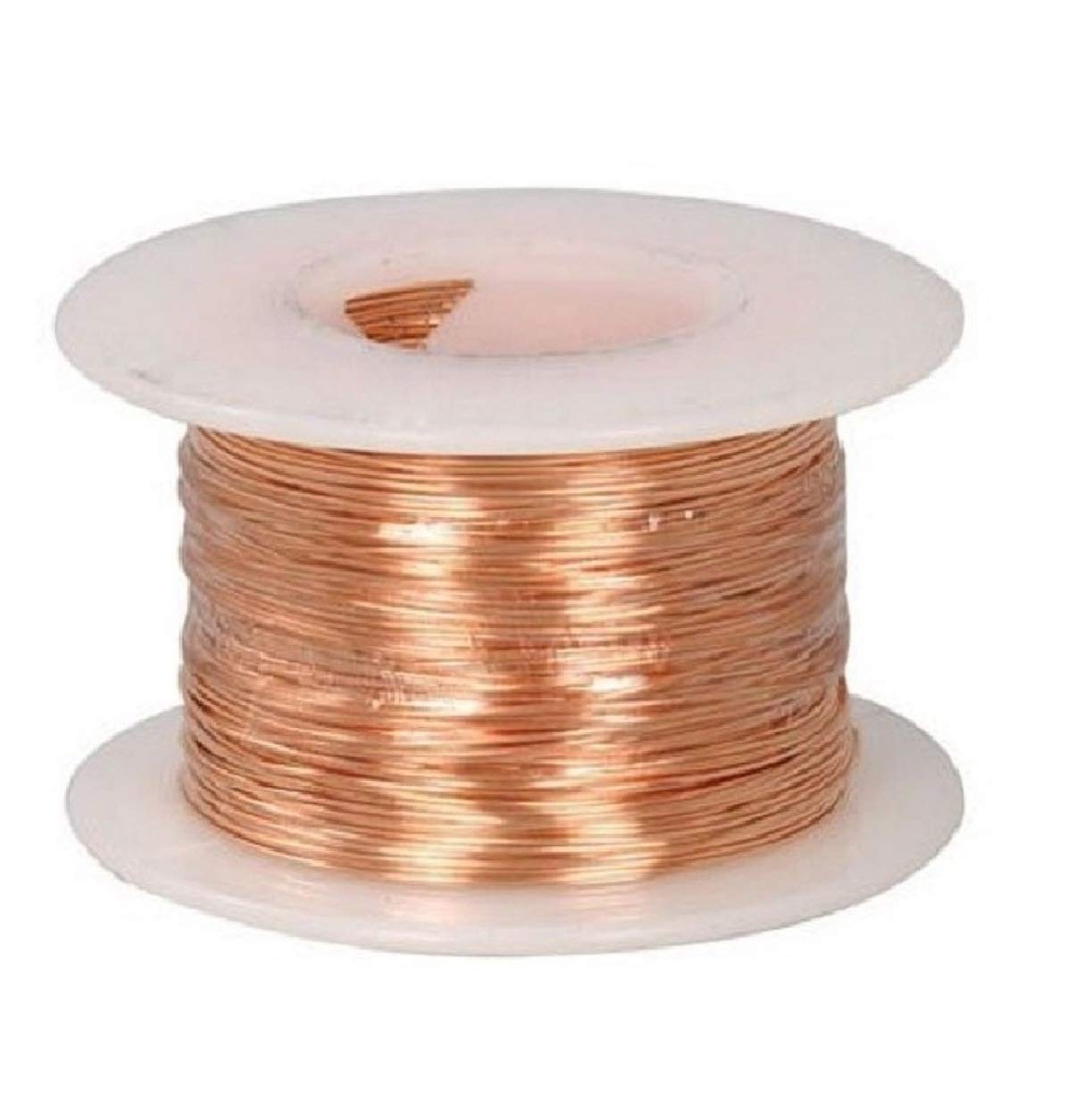 24 Ga Bare Copper Wire Genuine New York Mall Free Shipping 200 Ft Jewelry Ho Soft Dead Spool Making