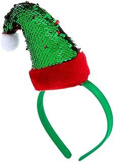 Claire's Girl's Reversible Sequins Elf Hat Headband