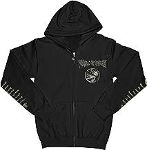 Cradle of Filth Men's Cruelty and The Beast Zippered Hooded Sweatshirt Black