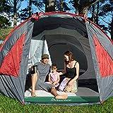 Brace Master Luftmatratze Camping,Doppel Luftbett mit Kissen,Aufblasbare Gästebett für 2 Personen,Aufbewahrungstasche Enthalten,203 x 152 x 28 cm, Grün - 6