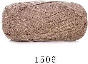 Hilo de lana plano de 70 m para tejer alfombras, hilo de algodón, cesta de mano, manta, cesta, (1506), the size, 1