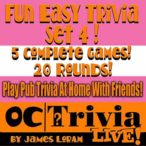 Fun Easy Trivia, Set 4 audiobook cover art