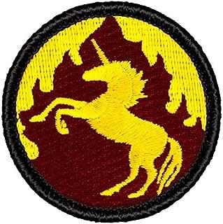 Flaming Unicorn Patrol Patch - 2