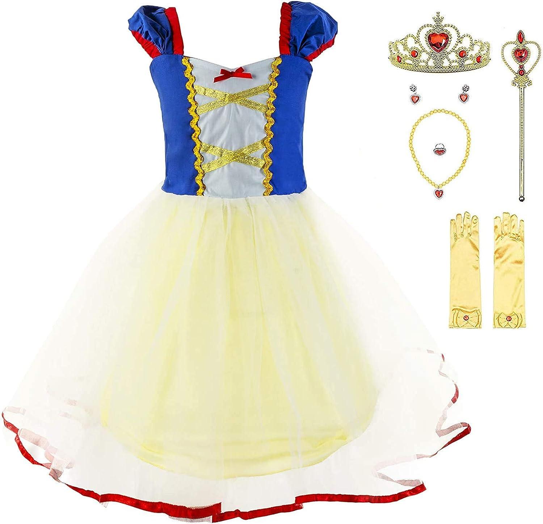 YOCOJA All items free shipping Girls Princess Popular overseas Dress Little Birthday Par Mermaid Up