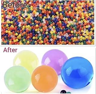 bbb8b00ae 5000 perlas de cristal de gel de color aguamarina que se expanden y  absorben de gelatina