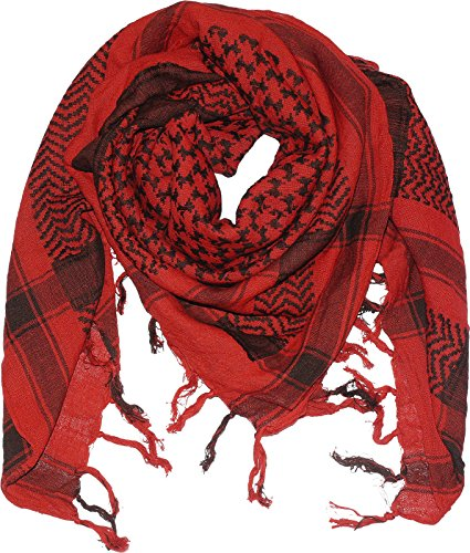 Harrys-Collection PLO Tuch in 20 Farben 100% Baumwolle dick, Farben:rot