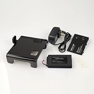 WINDCAMP 3000mah Polymer Lithium Battery +Charger + Battery Cover for Yaesu Ft-817 BLACK
